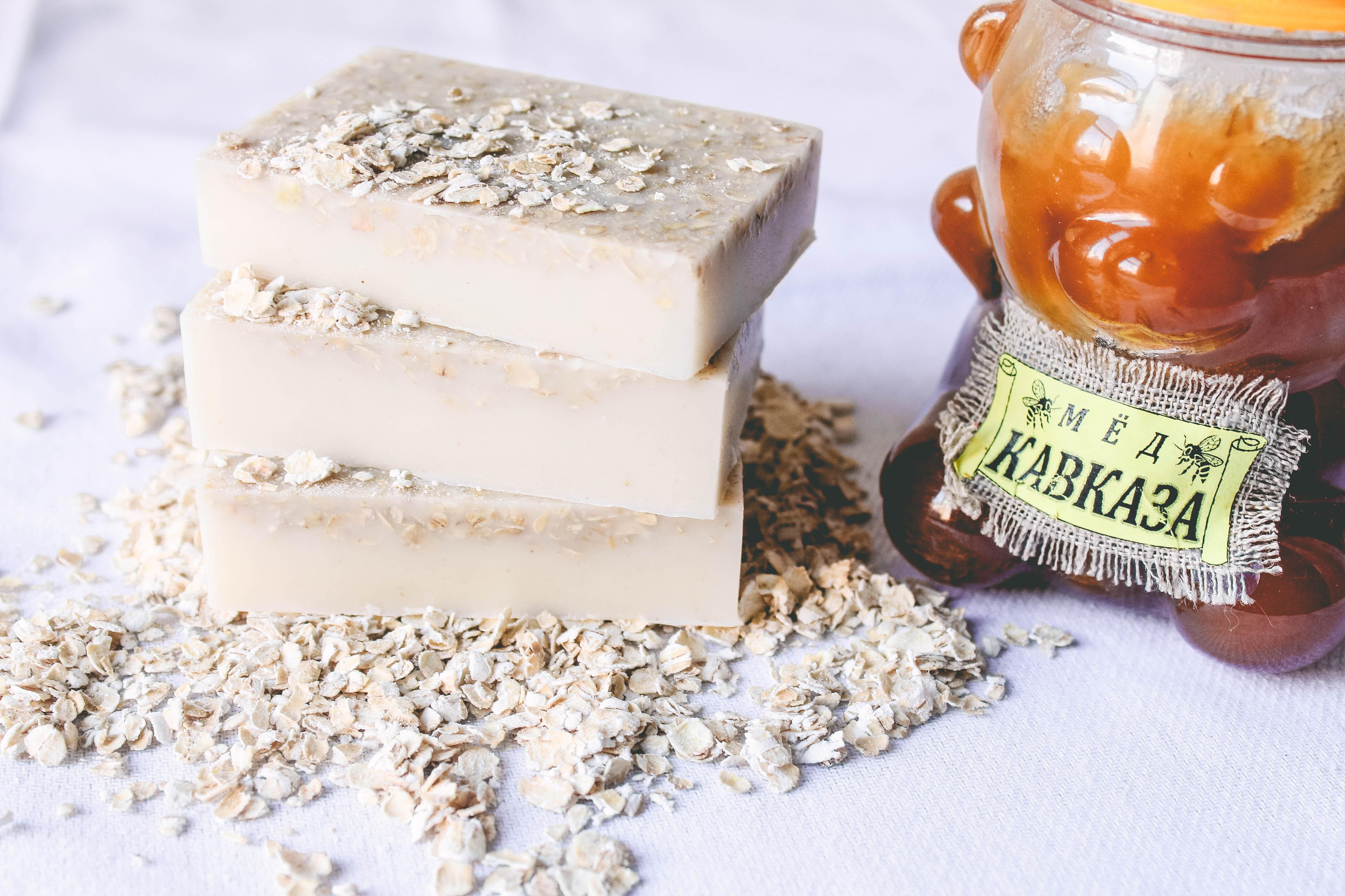 diy honey oatmeal soap