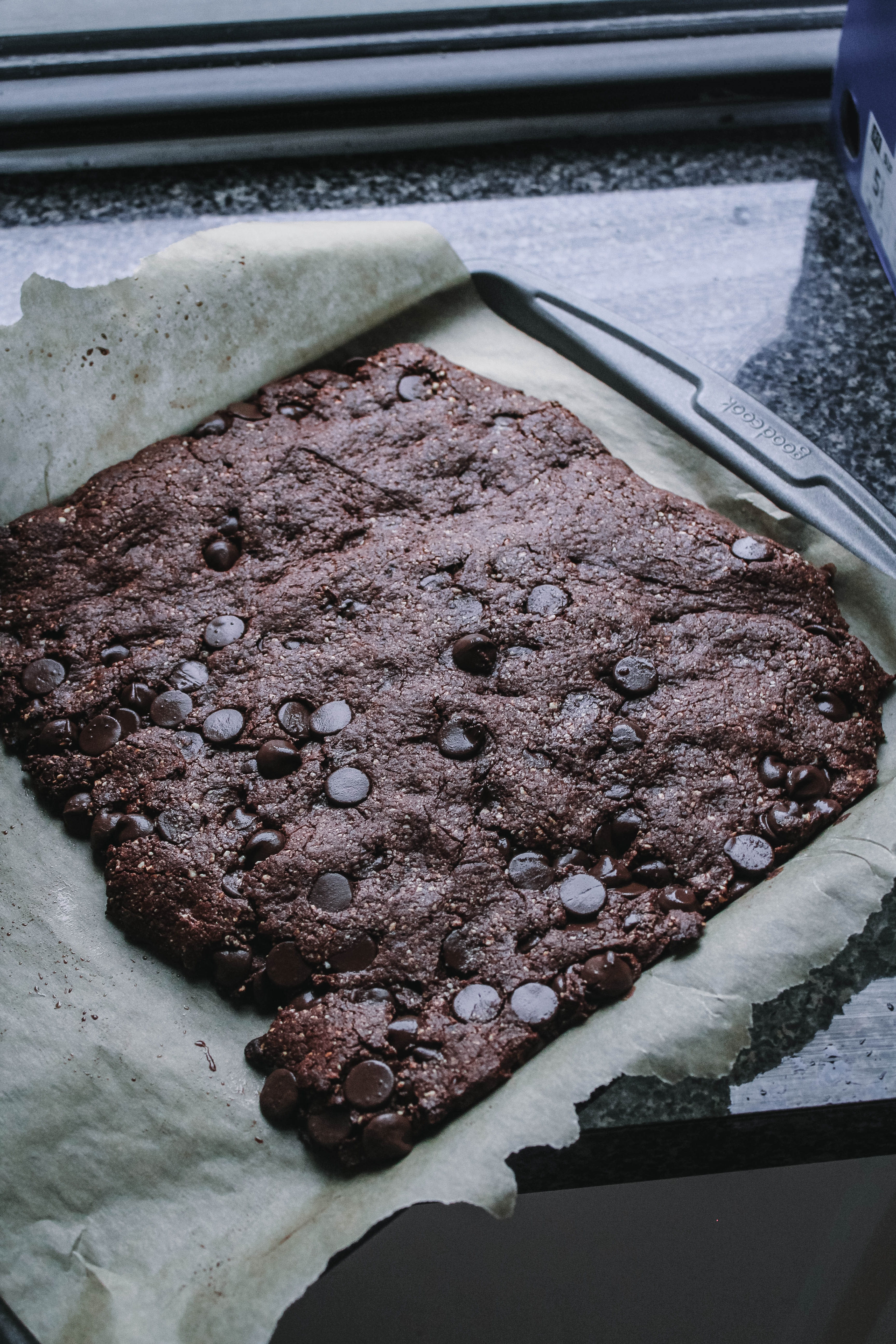 VEGAN, GRAIN-FREE, GLUTEN-FREE CHOCOLATE BROWNIES-5