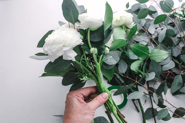diy bridal bouquet
