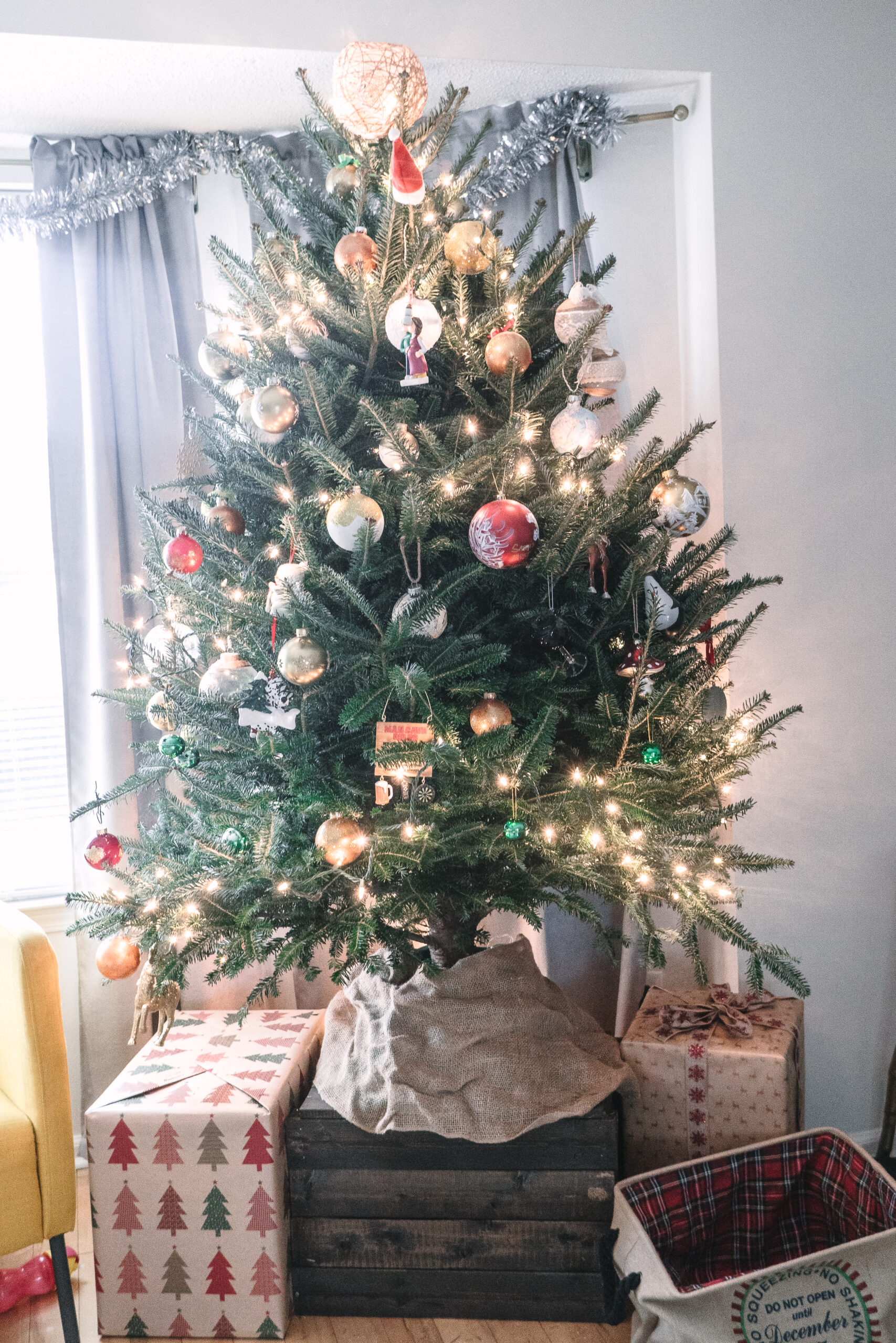 baby proof christmas tree