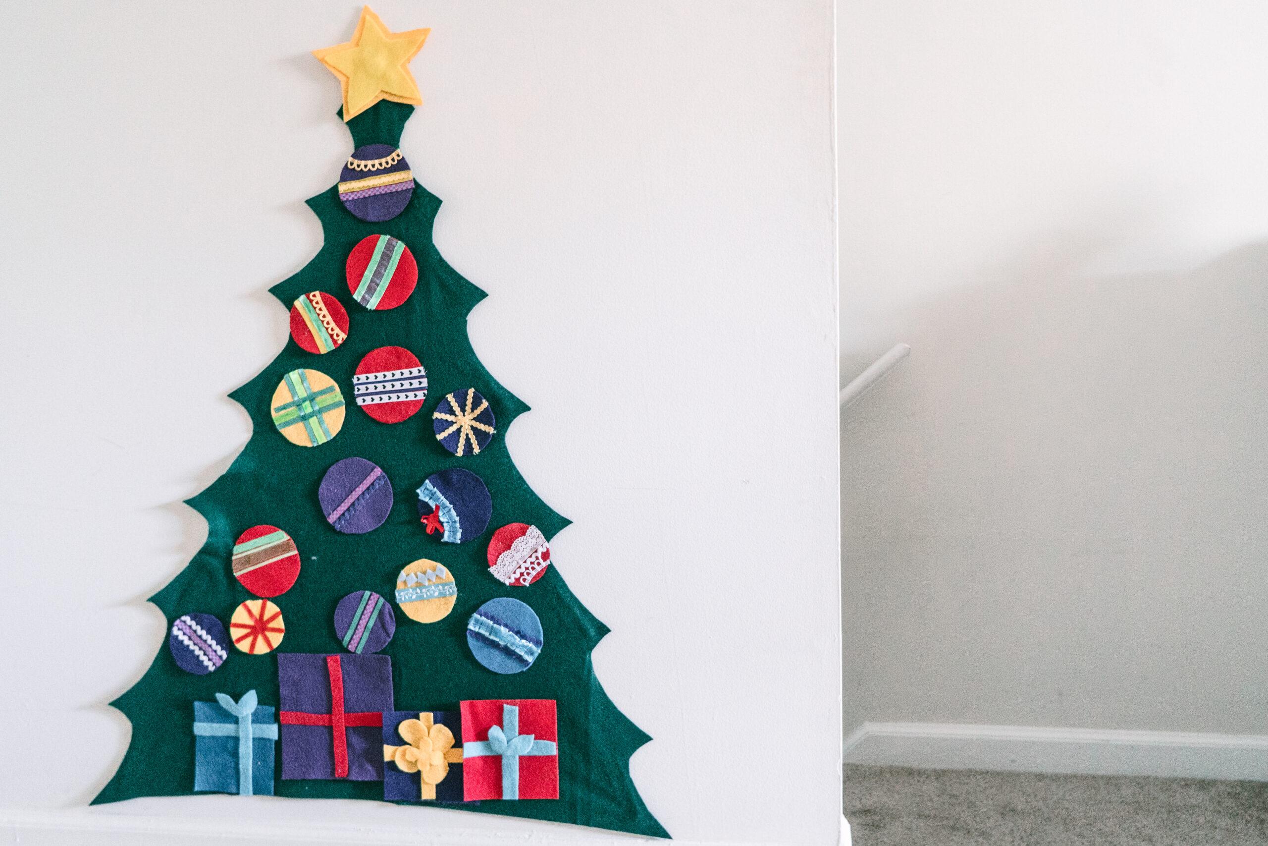 felt christmas tree toddlers