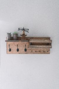 diy entryway organizer shelf