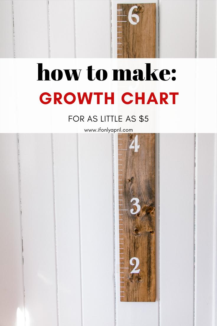 GROWTH CHART DIY