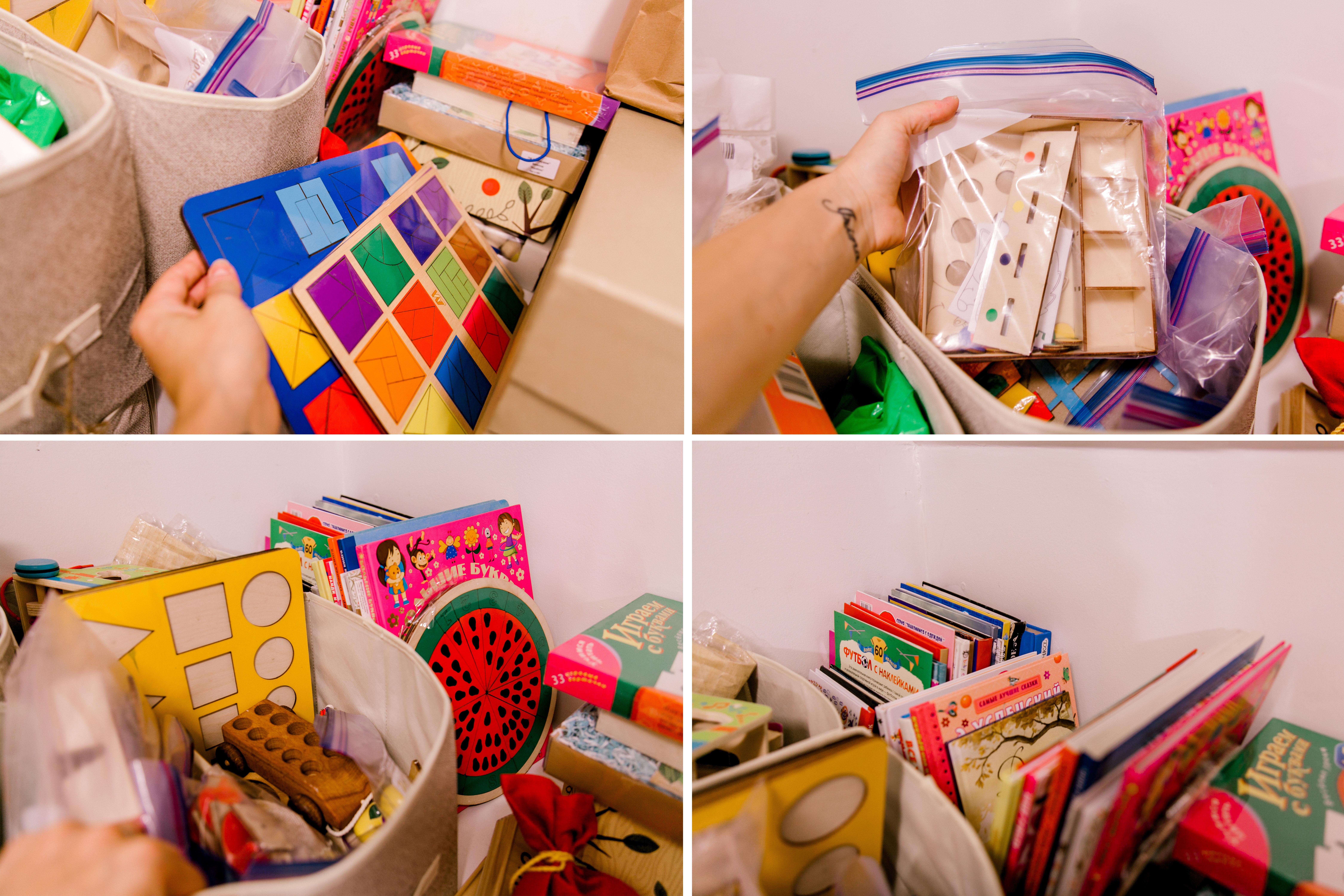 mom hack keep toys organized