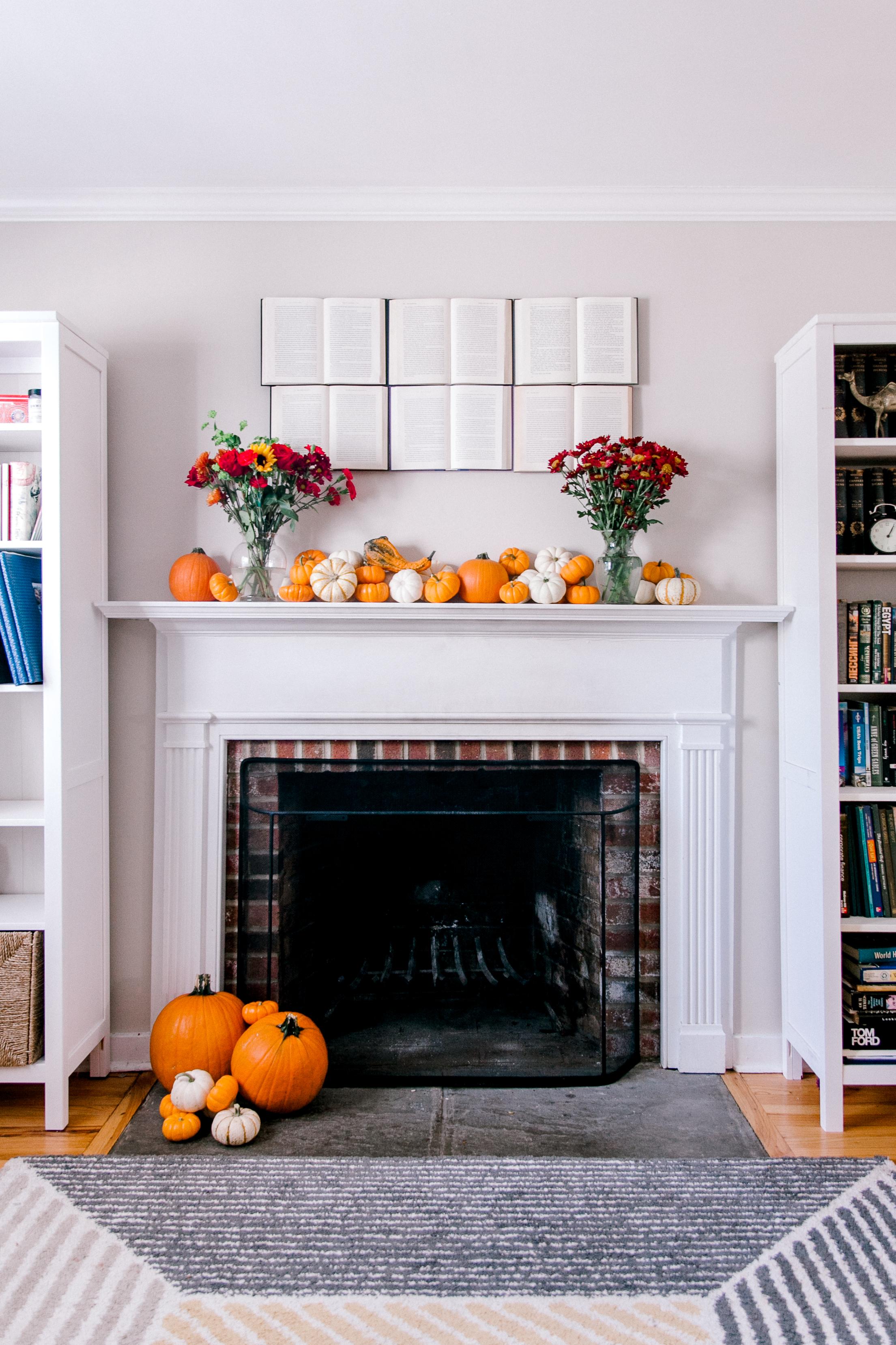 diy book wall