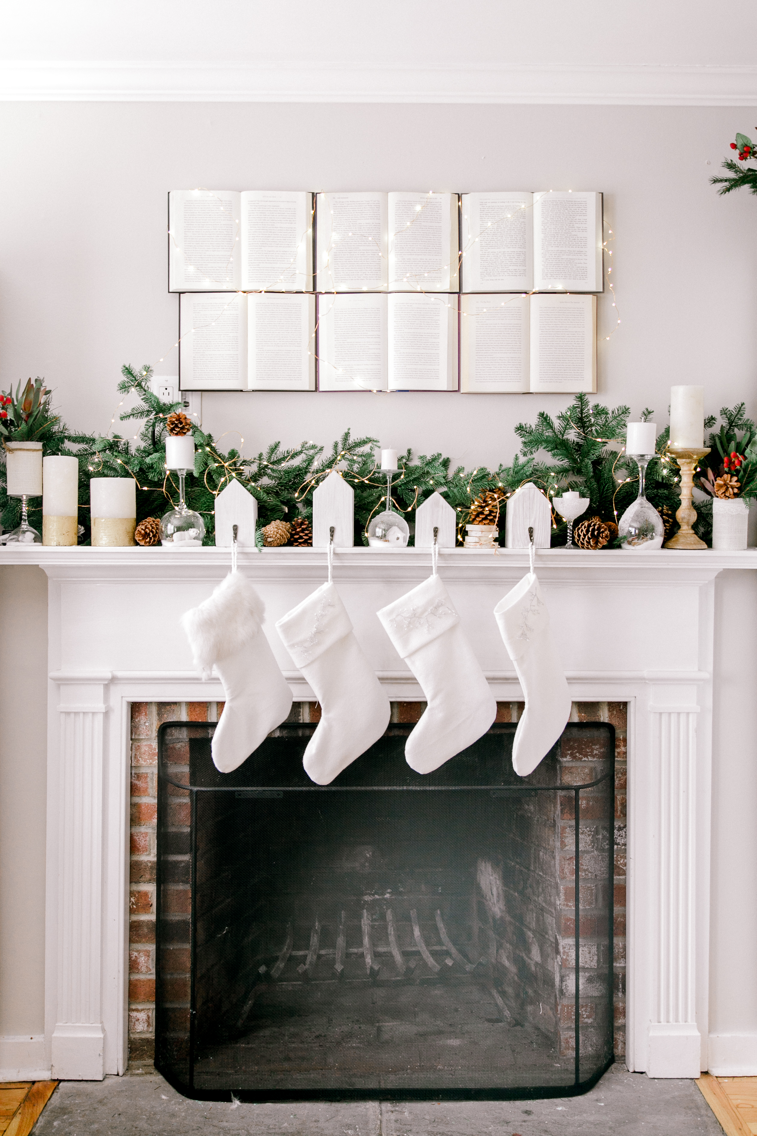 Natural Minimalist Christmas Decorations If Only April