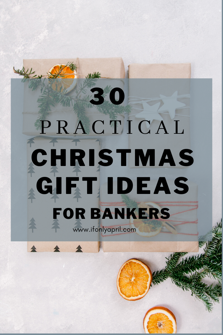 GIFT IDEA FOR BANKERS
