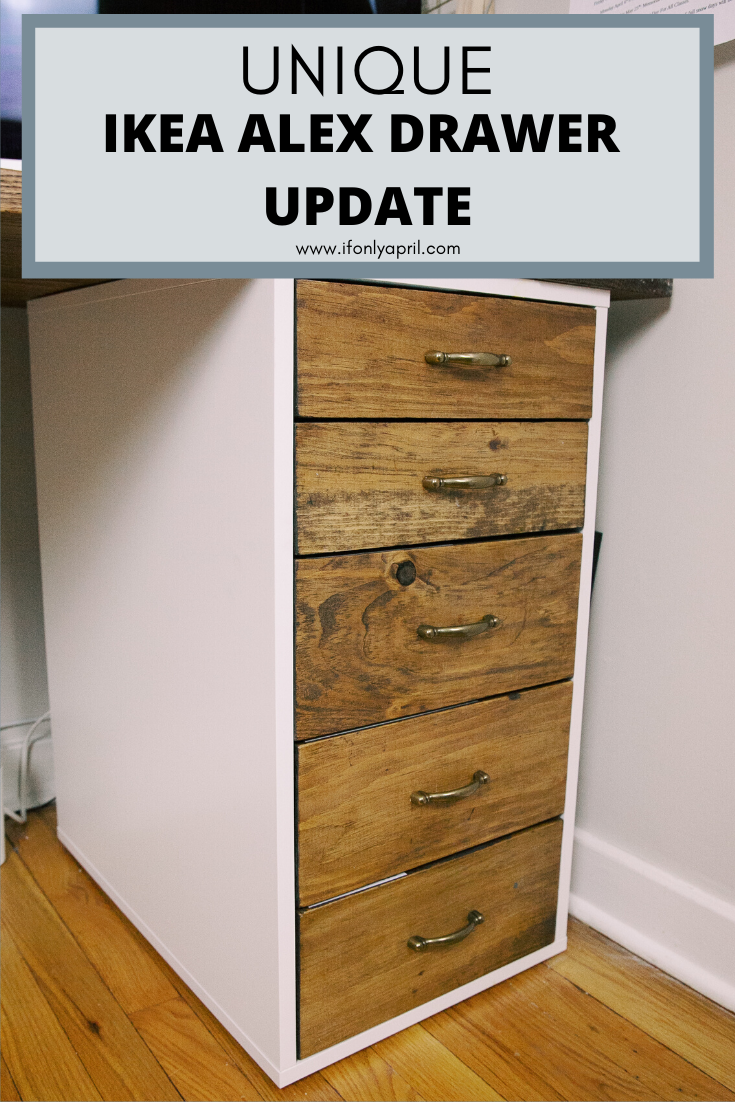 Alex Drawer Upgrade Ikea Hack