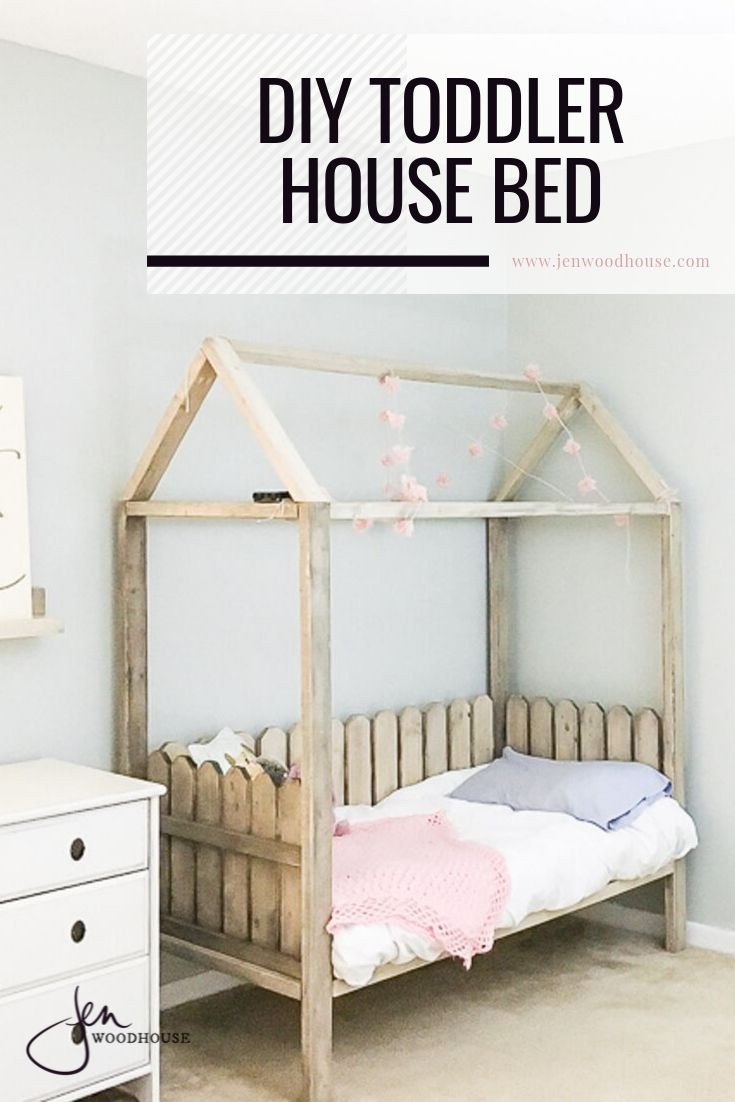 diy house bed