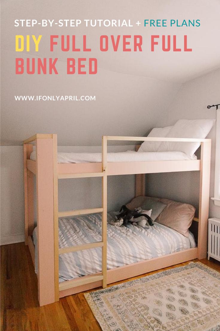 full over full bunkbed plans