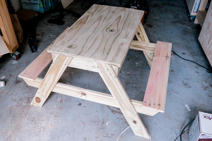 picnic sandbox table