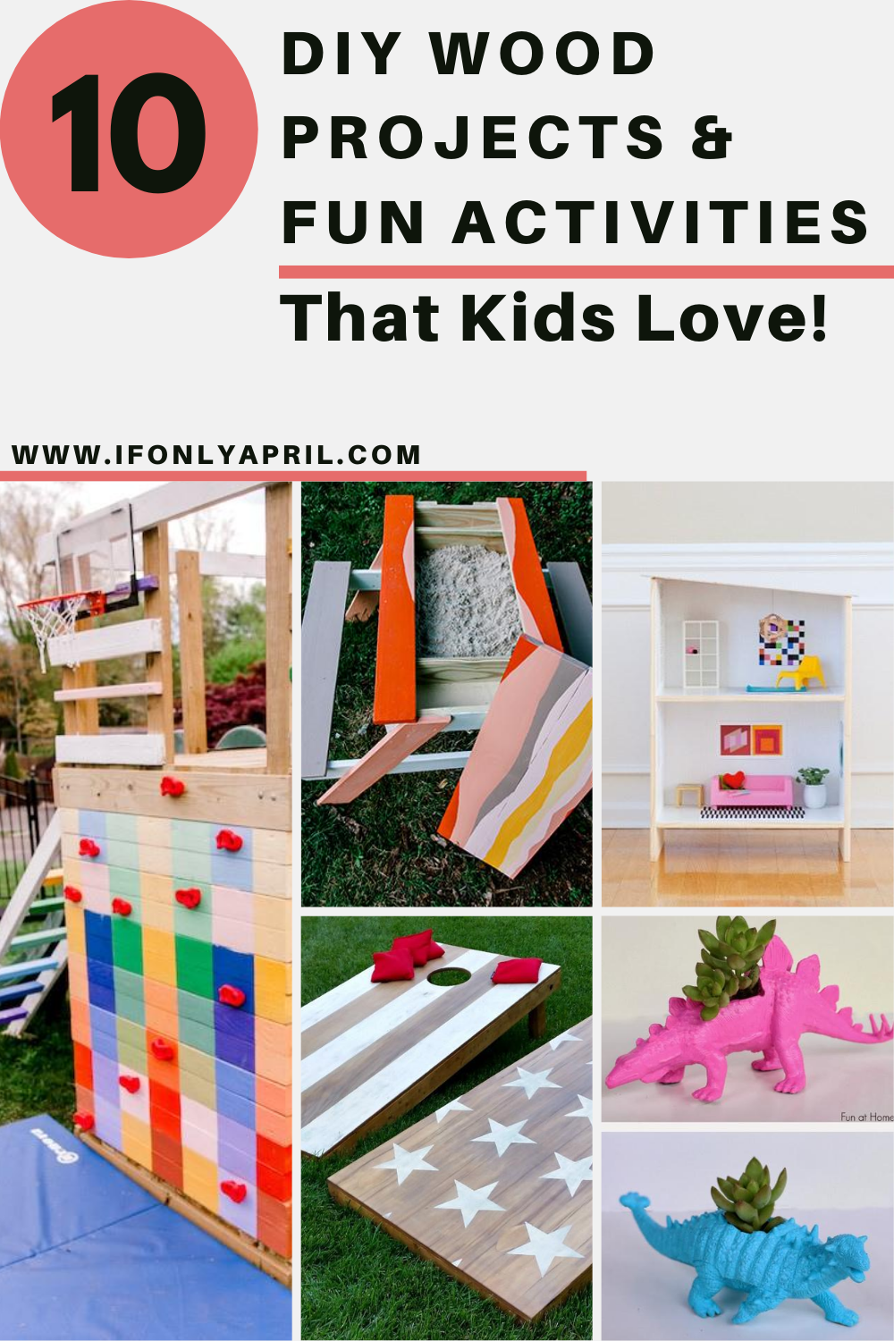 10 diy wood projects and fun activities for kids