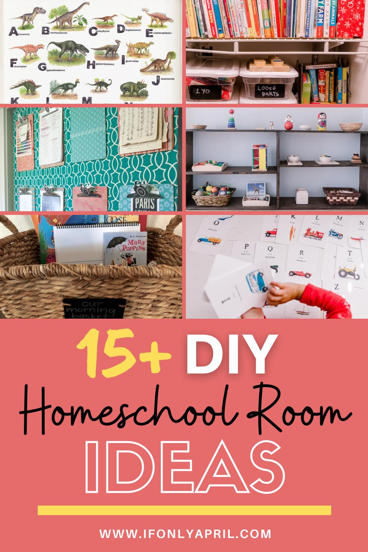 15+ diy homeschool room ideas for effective homeschooling