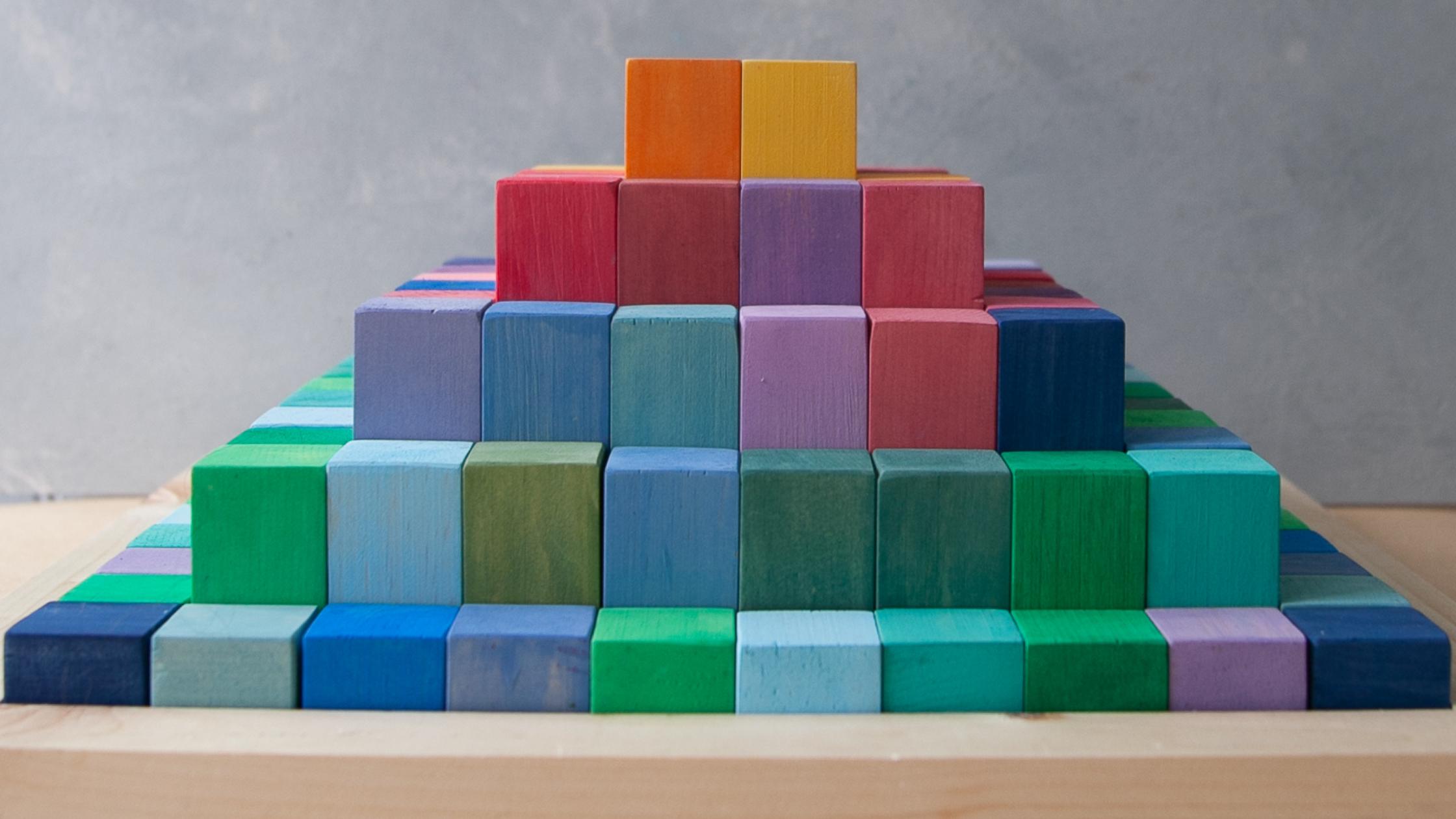 diy math building blocks