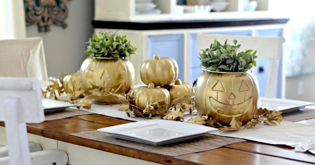 Dollar Store DIY Pumpkin Decor