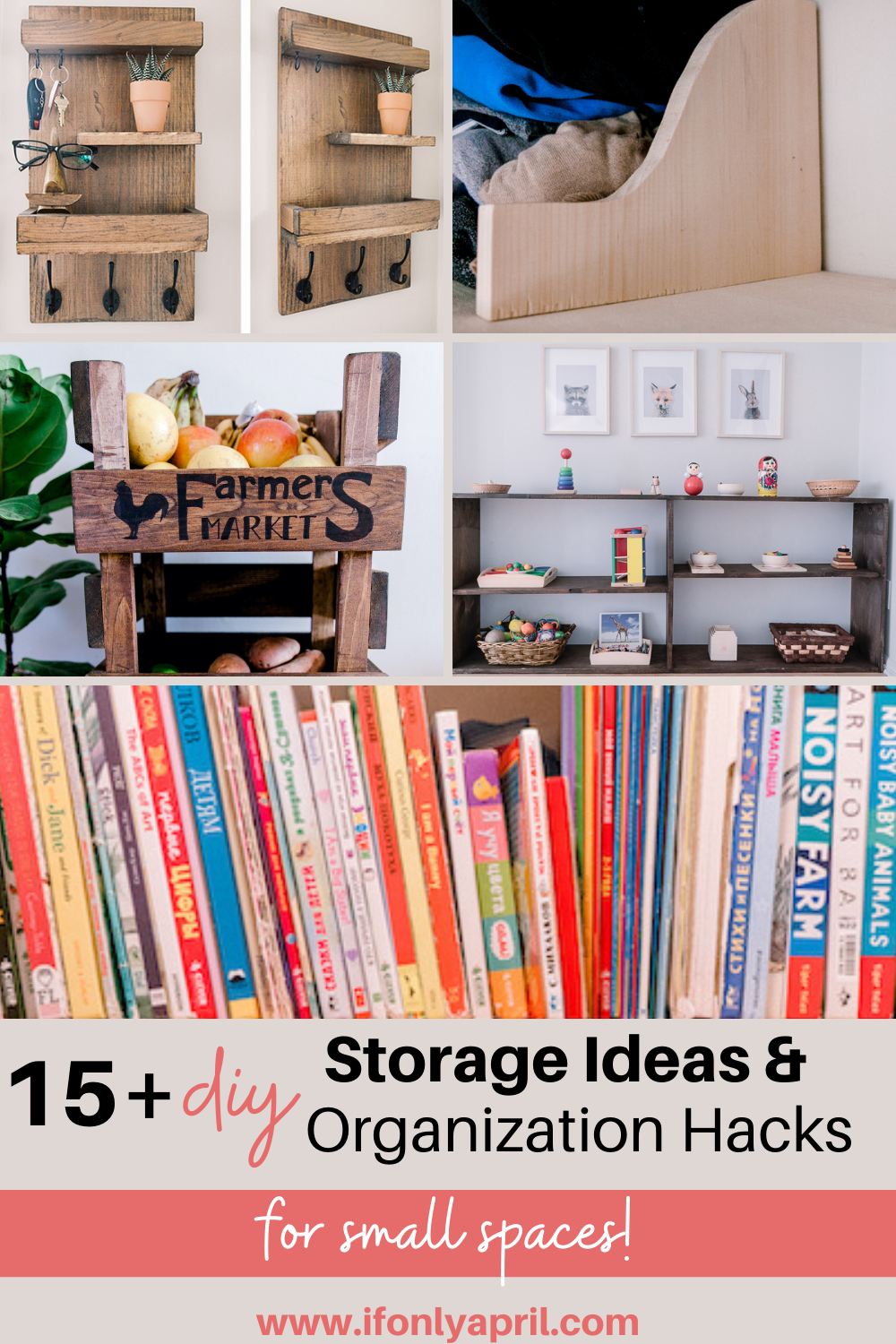 15+ diy storage ideas and organization hacks for small spaces