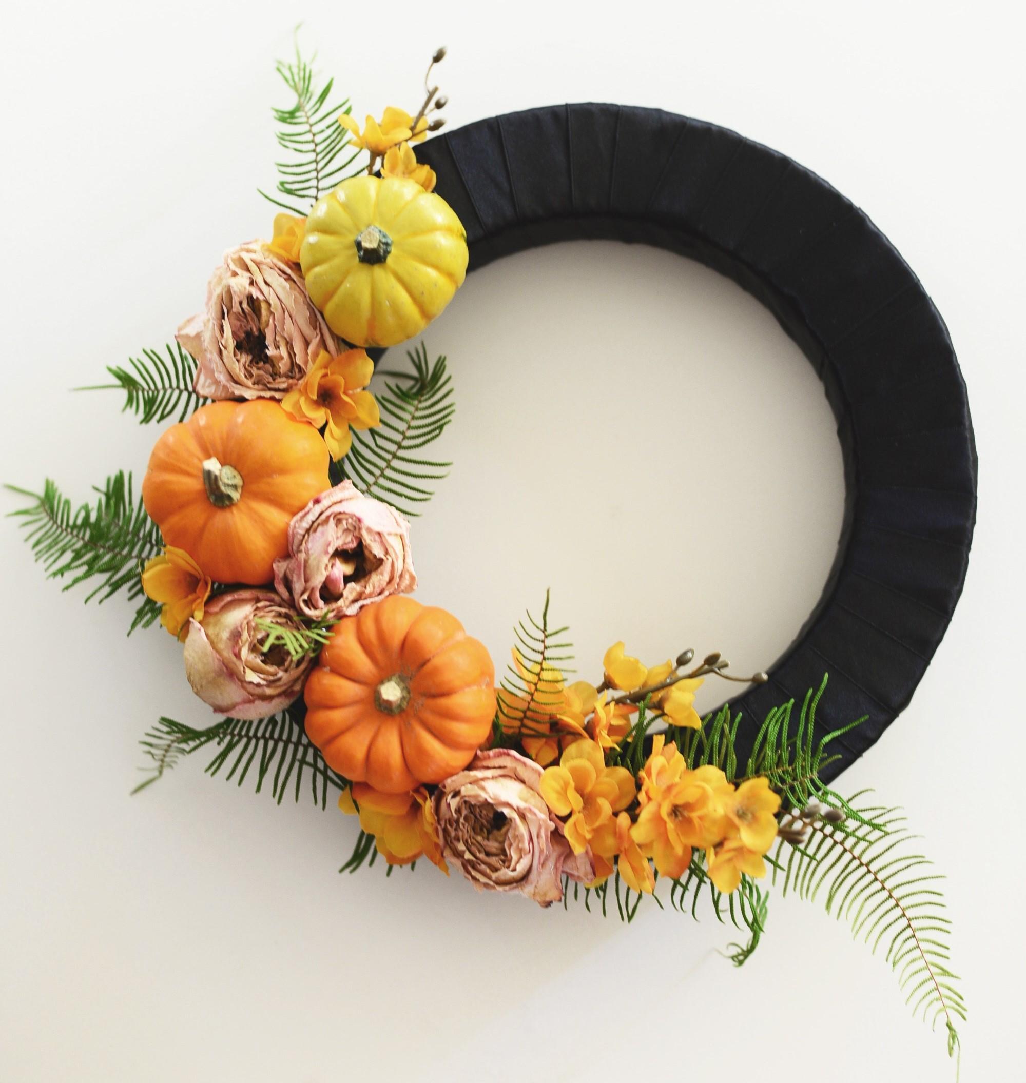 Beautiful Halloween Wreath