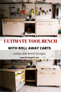 diy tool bench