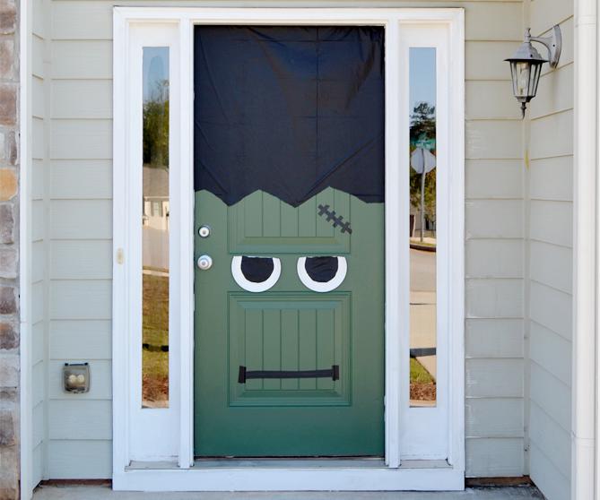 frankenstein diy front door