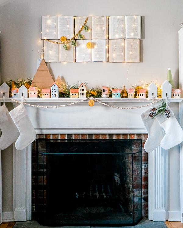 Scandinavian style Christmas decorations